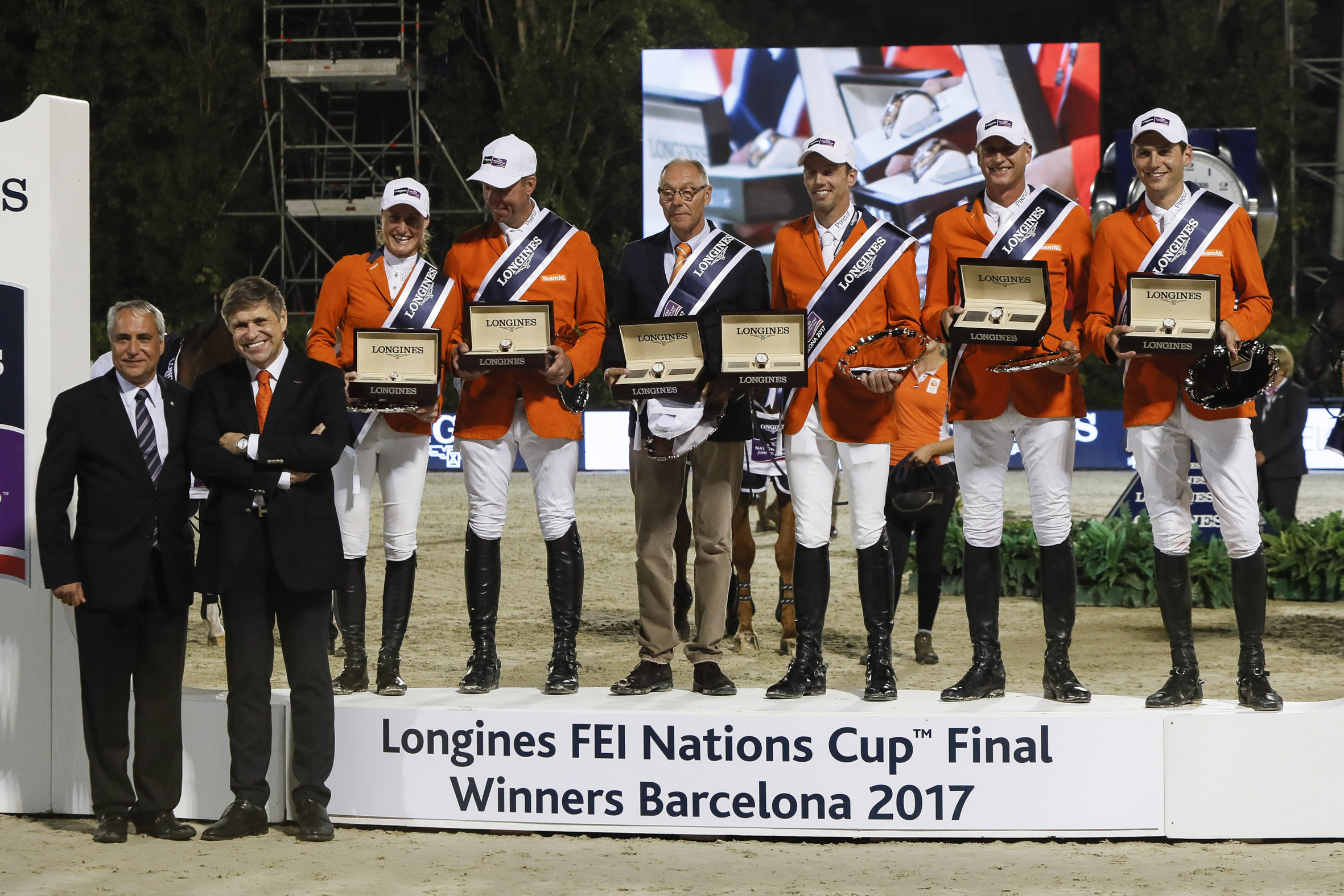 The Longines FEI Jumping Nations CupTM  2018 presents innovations