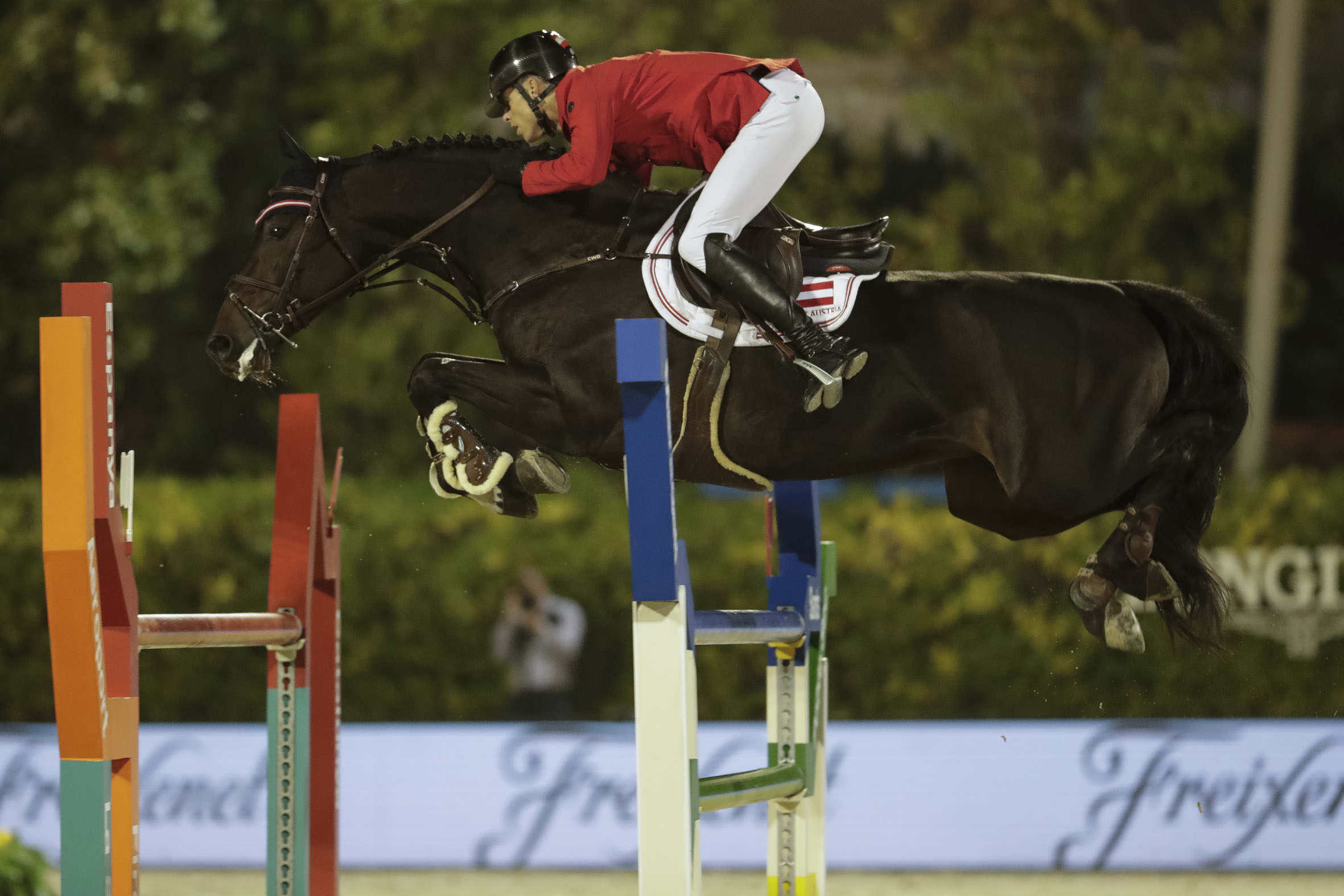 Austria And Italy Dominate The Qualifying Round Of The Longines Nations Cup Final