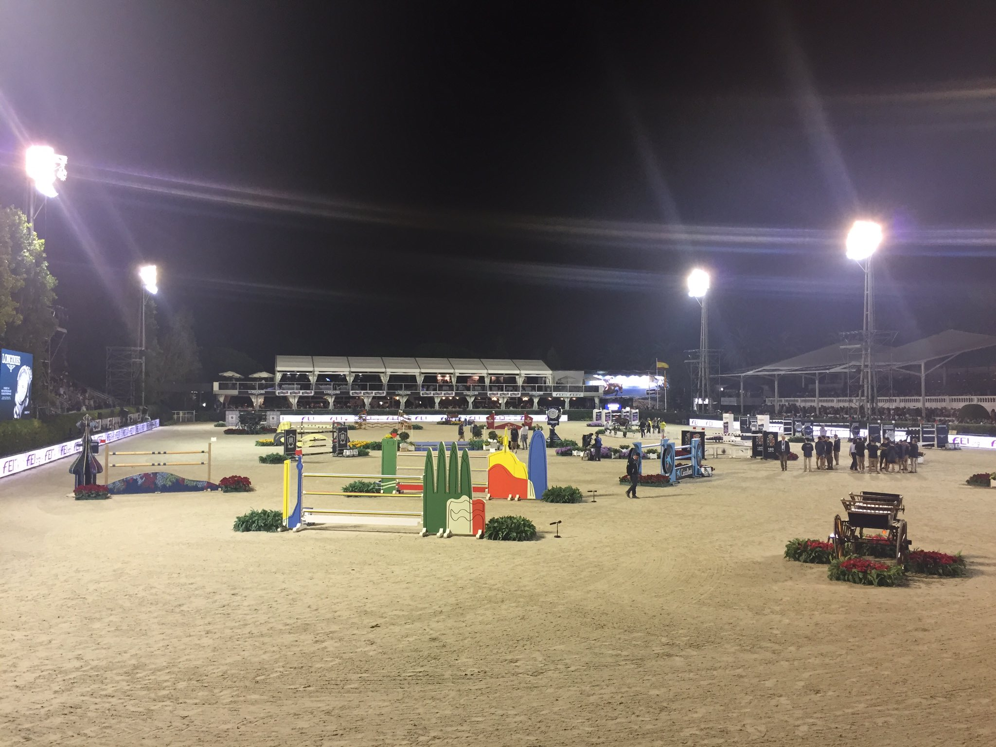 The Longines FEI Nations Cup Final will start at 22.45 h