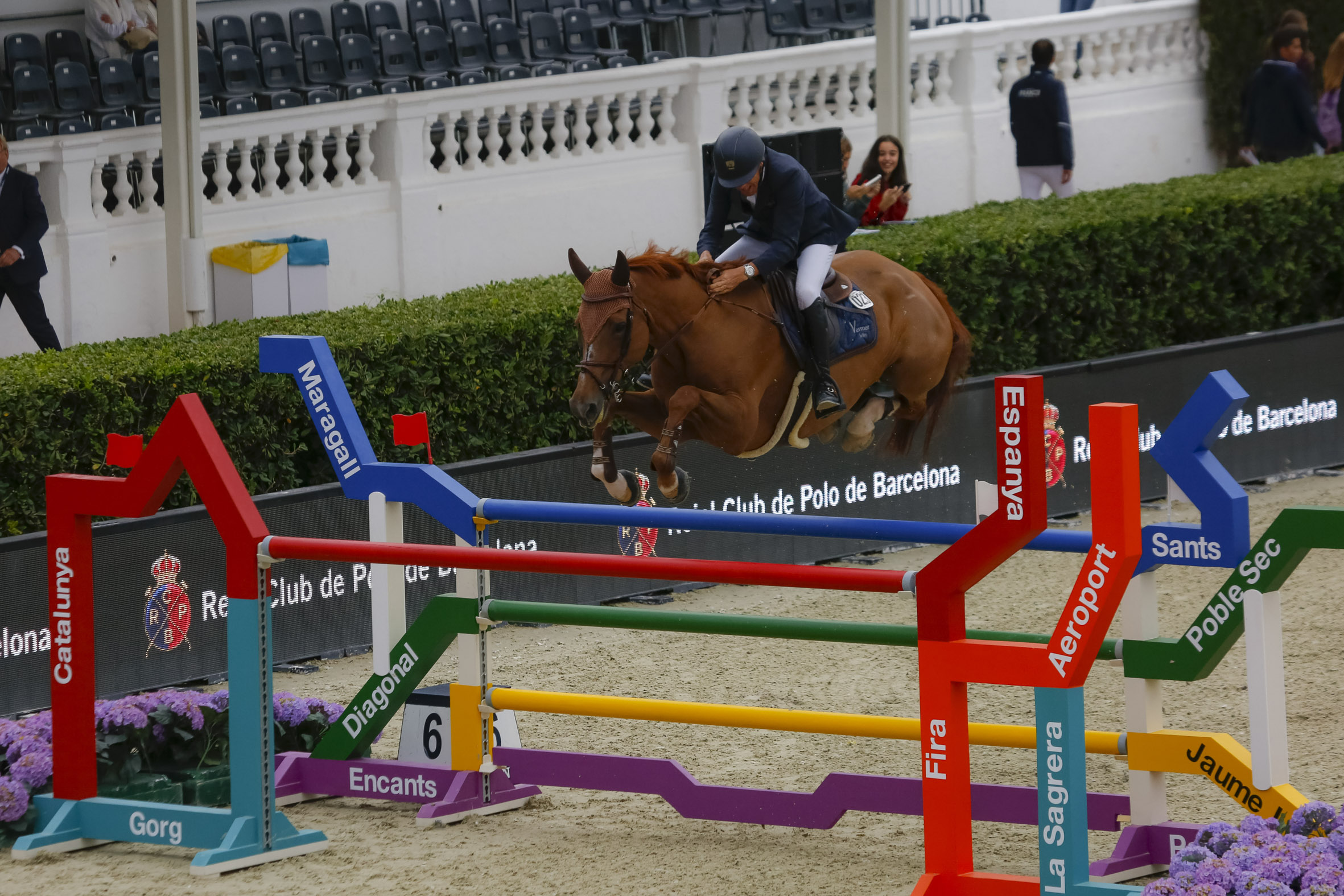 """Jumps for the city"": CSIO Barcelona with the design"