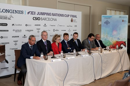 CSIO Barcelona 2018 official presentation.