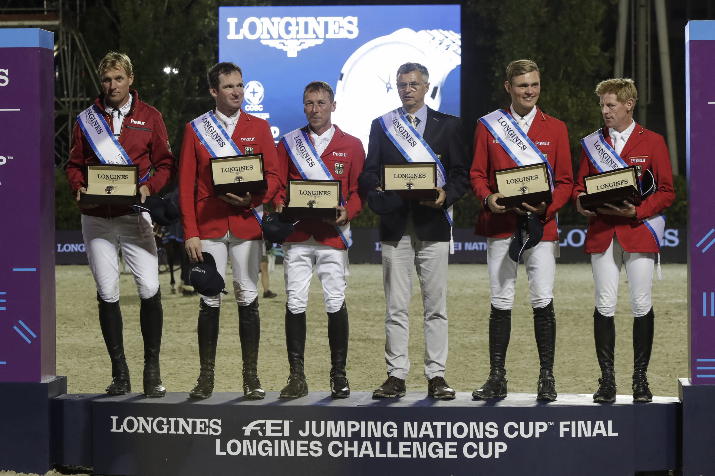 Germany, winner of the Longines Challenge Cup