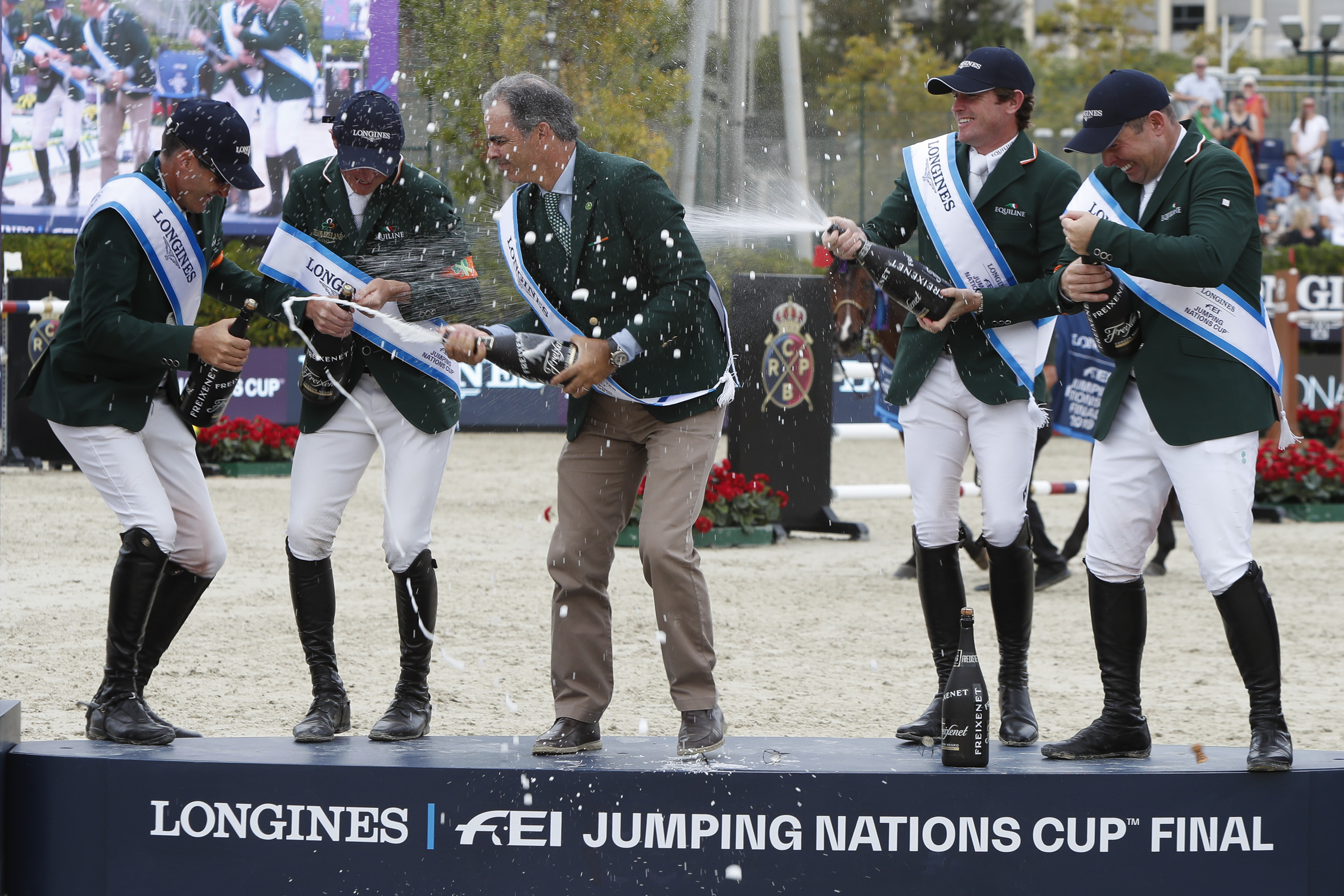 Ireland wins the Longines FEI Jumping Nations Cup Final
