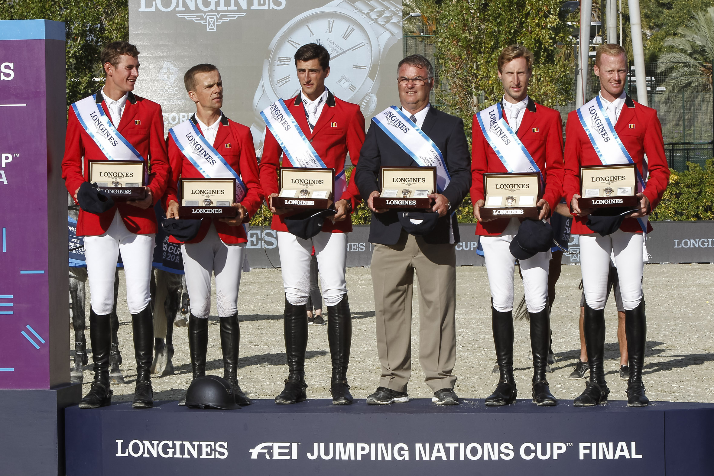Belgium wins Longines Nations Cup