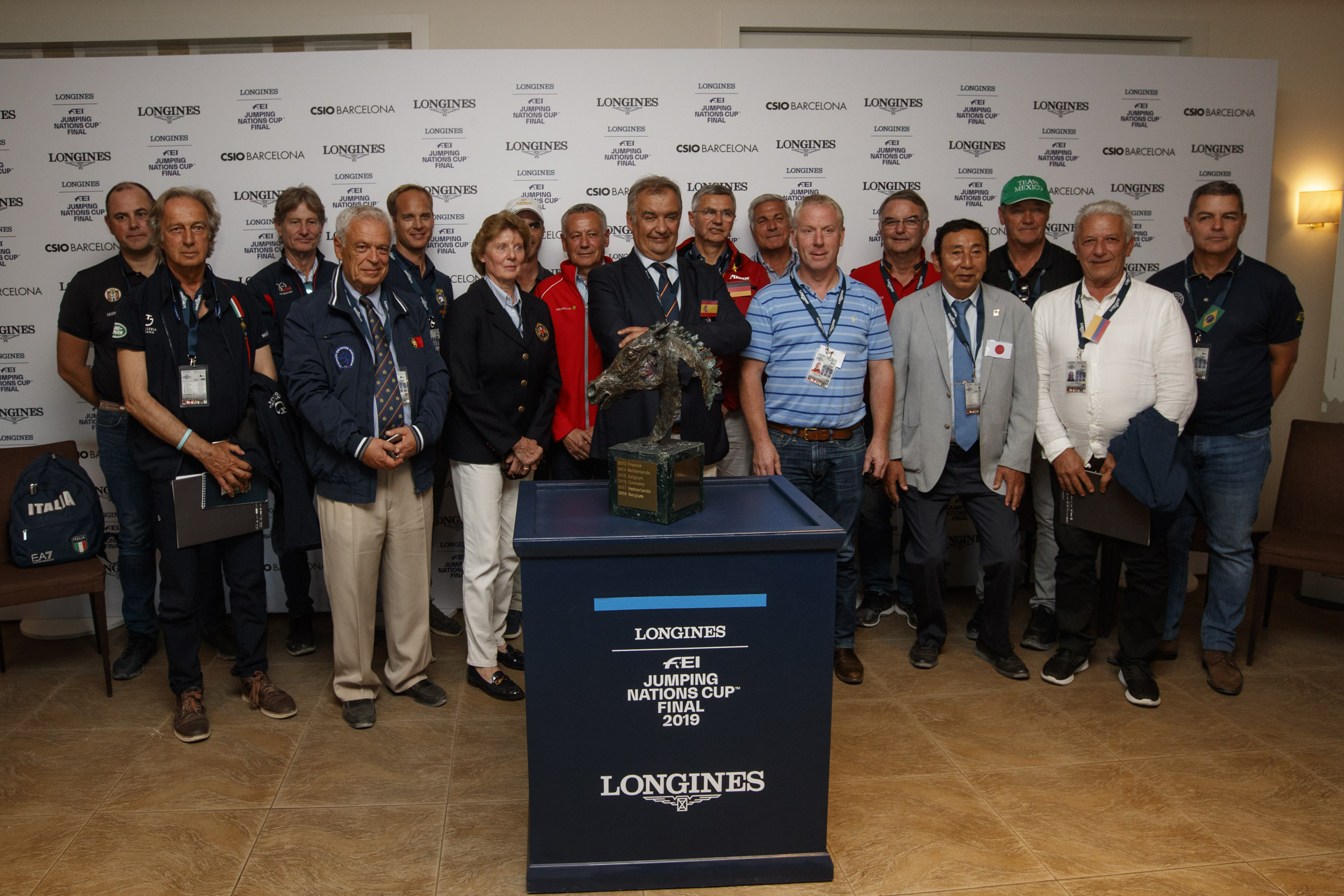 Longines FEI Jumping Nations Cup Final starting order draw